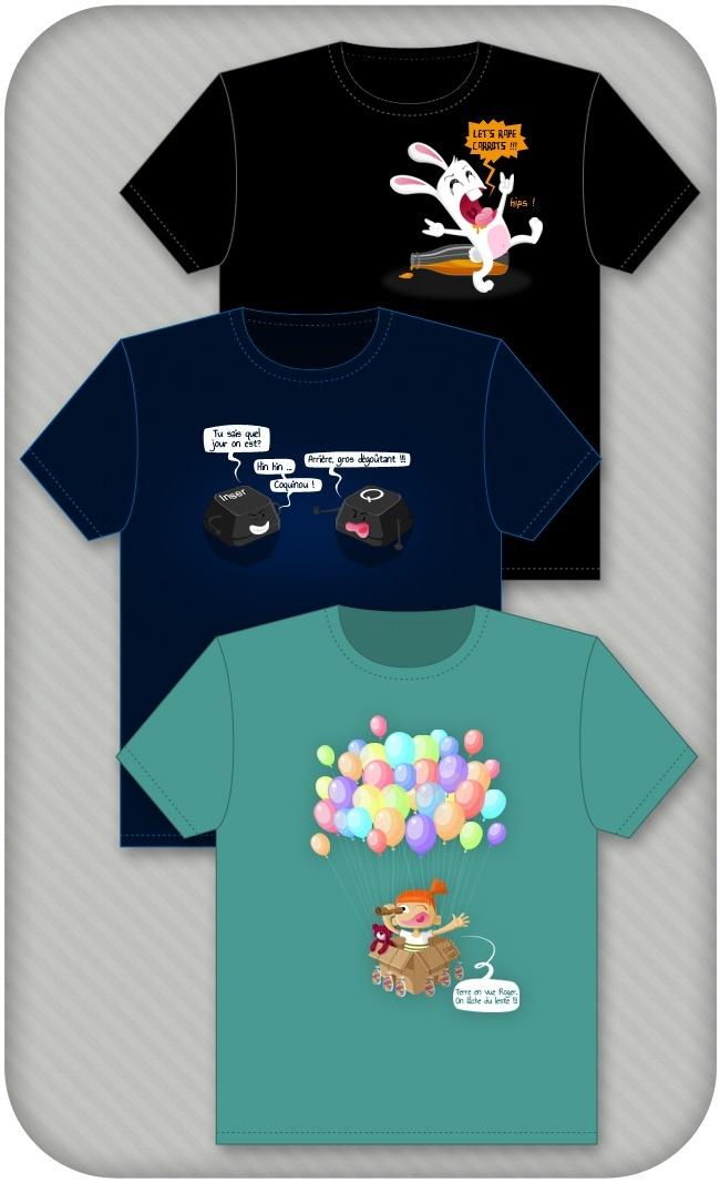 t-shirts personnalisés oréli dee