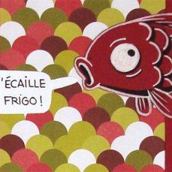 on se l'écaille poisson rouge scrapbooking