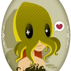 Octopuss head - Tête de poulpe