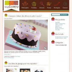 Screenshot template wordpress Blog