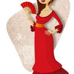 Flamenco - Portrait d'une danseuse