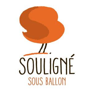 Souligné sous Ballon