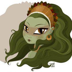 Gaïa, déesse de la terre