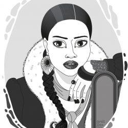Panchali - portrait d'après Vogue