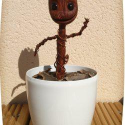 Dancing Baby Groot - Argile