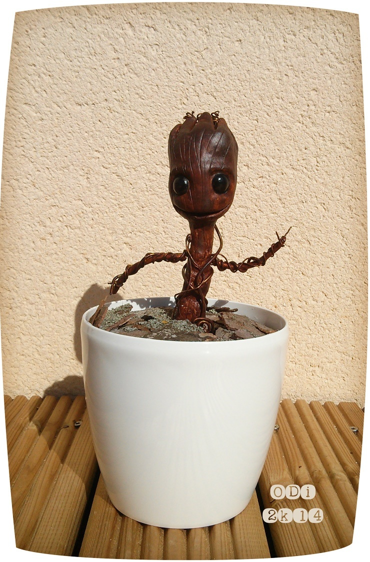 Twin - Dancing Baby Groot