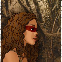 Jungle - Portrait Kiersey Clemons