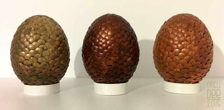 DIY oeuf de dragon / dragon eggs