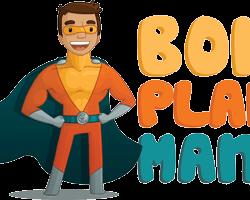 Bon plan man - Logo et mascotte
