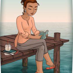 Lectrice d'eau douce