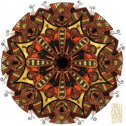 Mandala - feutres