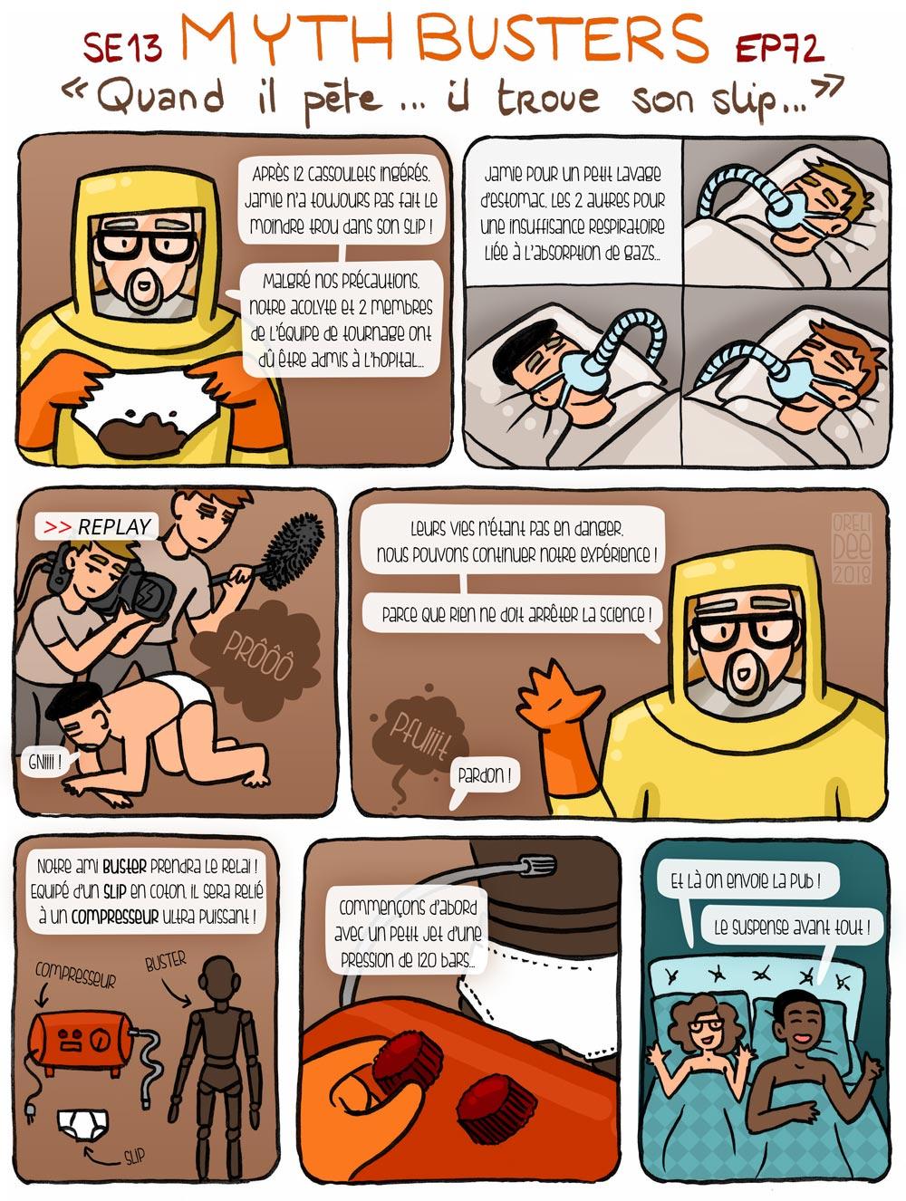 MythBusters - Quand il pète il troue son slip