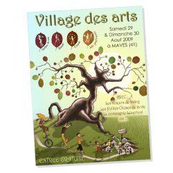 Affiche du festival Village des arts / Maves
