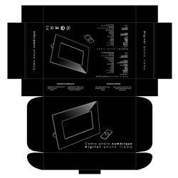 Packaging pour cadre numérique
